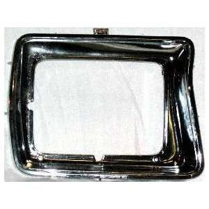 78 79 FORD BRONCO HEADLIGHT DOOR RH (PASSENGER SIDE) SUV, Chrome, With