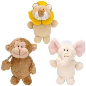 FAO Schwarz Baby Animal Finger Puppets
