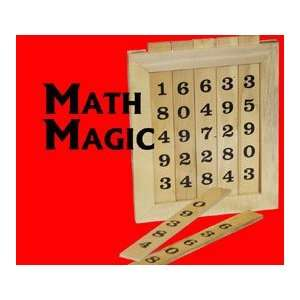 Math o Magic Wood, Boxed   General Magic trick Toys & Games