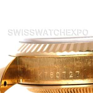 Rolex President Day Date Mens 18k Yellow Gold Watch 118238