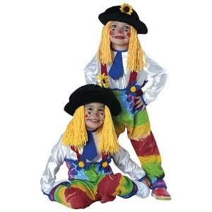 Colorful Clown Toddler Costume Toys & Games