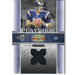 Gridiron Gear Playbook Platinum #4 Marc Bulger