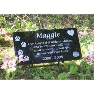 Pet Memorial   Custom Granite Dog Memorial
