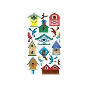 Sticko Birds and Bird Houses Stickers Arts, Crafts & Sewing