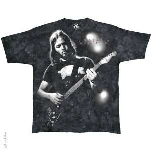 Pink Floyd David Gilmour T Shirt (Tie Dye), L Sports