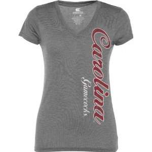 South Carolina Gamecocks Womens Heathered Charcoal Cannon