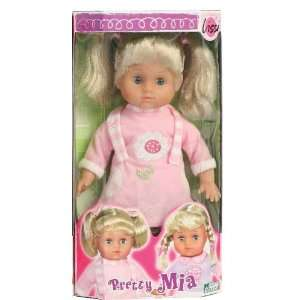 Pretty Mia Lissi Doll with Ponytails Toys & Games