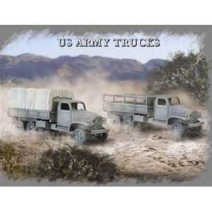 Pegasus Hobby 1/72 US Army Trucks Model Kit Toys & Games