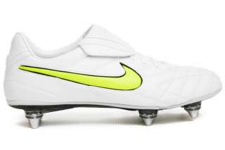 Nike Tiempo Legend Elite SG Soft Ground White Mens New Soccer Shoes