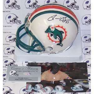 Ronnie Brown Autographed Mini Helmet   Replica  Sports