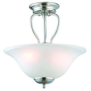 Nickel Monte Carlo Hanging Ceiling Light Fixture