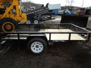 New 2012 Sure Trac 6x10 Tube Top Open Utility Trailer New 2012 Sure