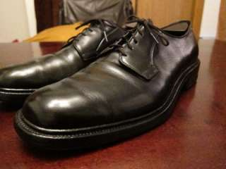 Edmonds Leeds Mens Black Job Interview Oxford Dress Shoes Sz 11.5B