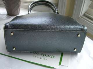 Kate Spade Wellesley Anthracite Small Maeda Purse Bag $395