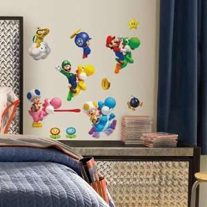 New Super Mario Bros. Wii Wall Decals In Roommates