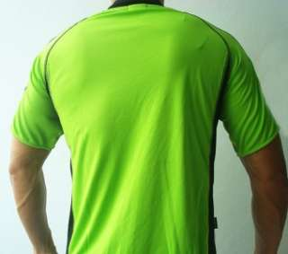 KAPPA Mens Football Soccer Jersey Shirt Green M L XL