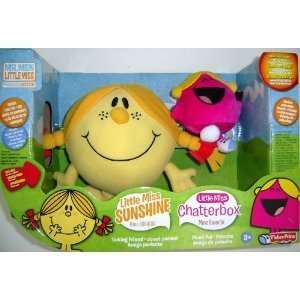 Little Miss Sunshine Plush Talking Toy with Bonus Little Miss