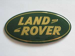 Land Rover LR3 Sport Range Rover Discovery Front Grille Emblem Green