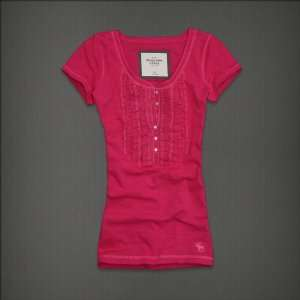 Abercrombie & Fitch Womens Kint Layer Pink
