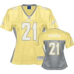 LaDanian Tomlinson San Diego Chargers Womens Hershield Fashion Jersey