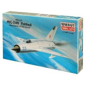 Minicraft Models MIG 21 Fishbed 1/144 Scale Toys & Games