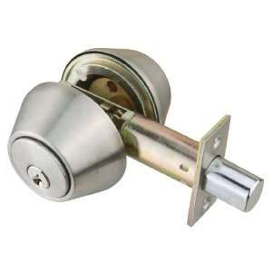 Design House 701722 Satin Nickel C Series Commercial Double Cylinder
