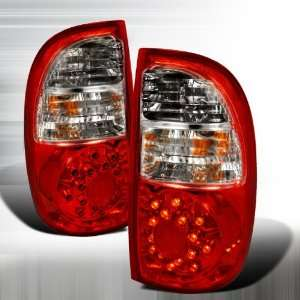 2005 2006 Toyota Tundra Led Tail Lights Red (Access Cab