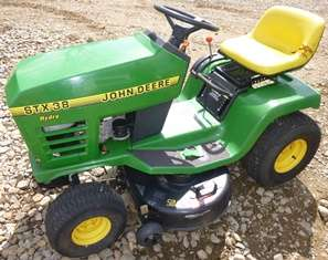 John Deere STX38 Mower Kohler Command CV13S 13hp Engine