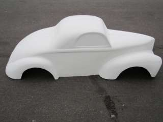 pedal car hot rod stroller 1/4 scale fiberglass body GASSER
