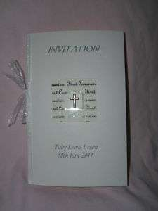 Personalised handmade 1st Holy Communion invitations