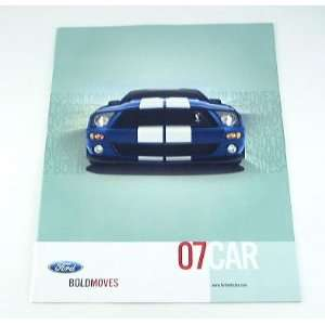 2007 07 FORD BROCHURE Mustang Fusion 500 Focus