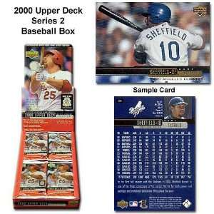 Upper Deck Mlb 2000 Series Two Unopened Trading Card Box