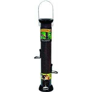 Droll Yankees CC18N 18 Inch Onyx Nyjer Tube Bird Feeder with Removable