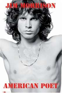 MUSIC POSTER ~ THE DOORS JIM MORRISON NECKLACE POET