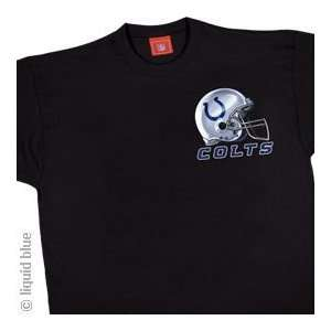 Indianapolis Colts Sky Helmet T Shirt