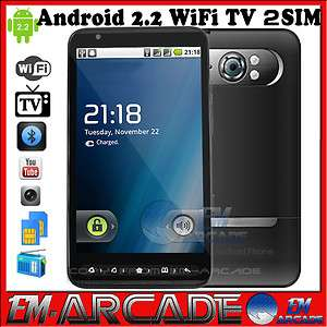 Android 2.2 Dual Sim WIFI GPS Smart phone A2000