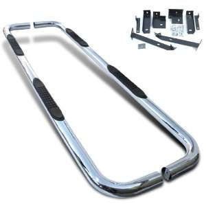 Polished Stainless Side Step Nerf Bars  Dodge Ram Mega