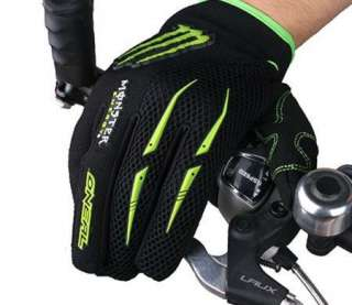 Cycling Bike Bicycle Motorcycle FULL finger gloves Size M L XL