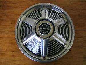Vintage 1965 Original Ford Mustang 14 Chrome Hubcap