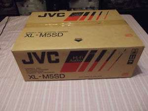JVC XL M5SD Compact Disc Changer CD Player NEW In BOX