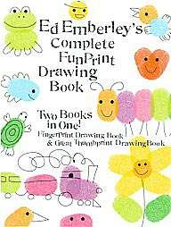 Ed Emberleys Complete Funprint Drawing Book