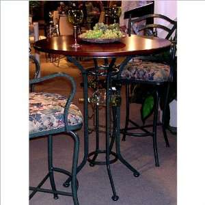 42 Round Tempo Napa Bar Height Pub Table Furniture & Decor