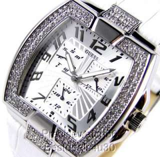 NEW GUESS WOMENS / MENS WATCH UNISEX SWAROVSKI CRYSTALS COLLECTION