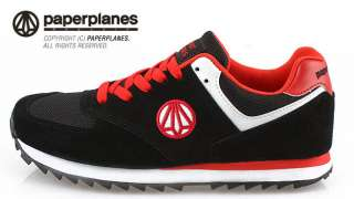 New MENS Paperplanes Running Black shoes ALL SIZE