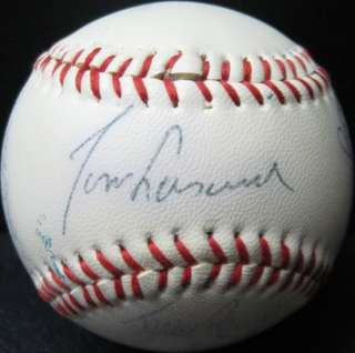 1982 LOS ANGELES DODGERS Team Signed Autograph Baseball