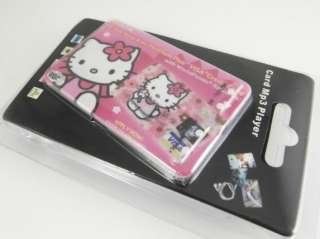 2G 2GB Cute Hello kitty Credit Card  player Pink CC4
