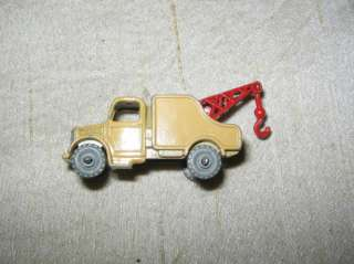 Lesney England Small Matchbox Wreck Wrecker Tow Truck No 13