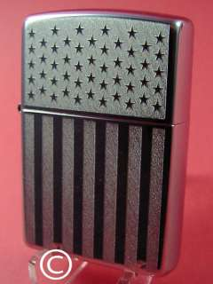 ZIPPO STARS AND STRIPES AMERICAN FLAG 2003 #S176