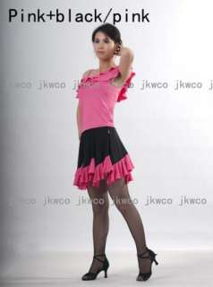 flouncing latin salsa rumba tango ballroom dance dress + top dance