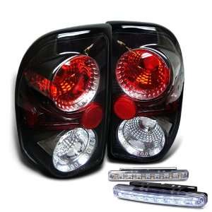 Eautolights 97 04 Dodge Dakota Tail Lights + LED Bumper